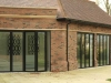 black-aluminium-folding-doors